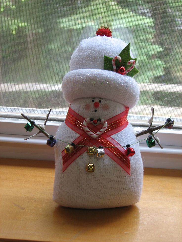 no sew sock santa craft 1000 images about sock snowman on sock 6963