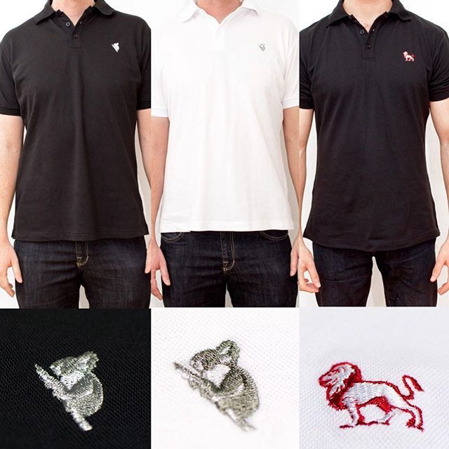 🐨 New #poloshirt are now on sale, every shirt helps an Endangered Animal in need! Check the profile link to see more info 🦁