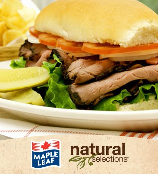 Beef with Horseradish and Blue Cheese #NaturalSelections @Maple Woods Leaf®