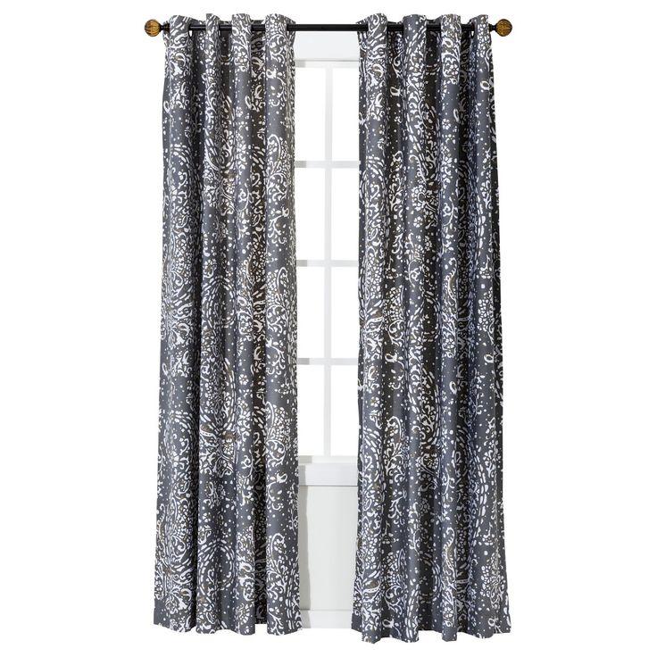 Superior Threshold  Paisley Curtain Panel