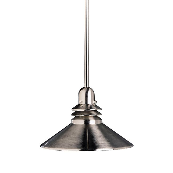 Shop kichler lighting grenoble mini pendant brushed nickel at lowes canada find our selection of mini pendant lights at the lowest price guaranteed with