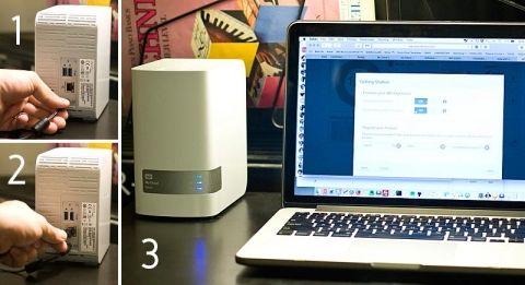 super simple setup for WD MyCloud Mirror - digital storage for peace of mind