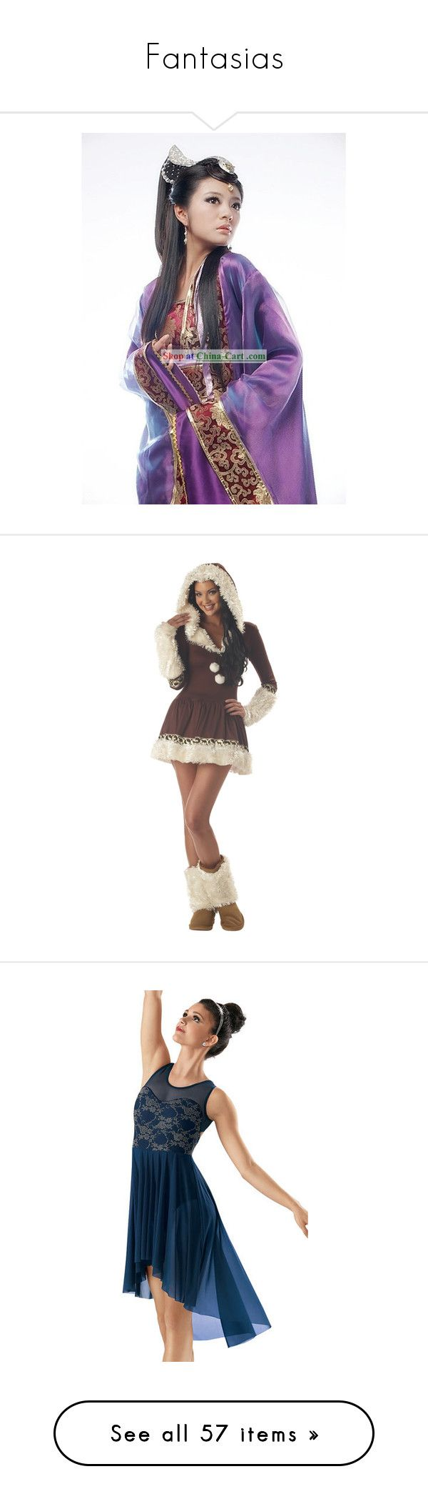 """""""Fantasias"""" by diario-de-uma-viajante ❤ liked on Polyvore featuring costumes, fairy halloween costume, fairy costume, halloween costumes, sexy plus size womens costumes, animal print costumes, sexy costumes, eskimo halloween costume, sexy plus size costumes and dance"""