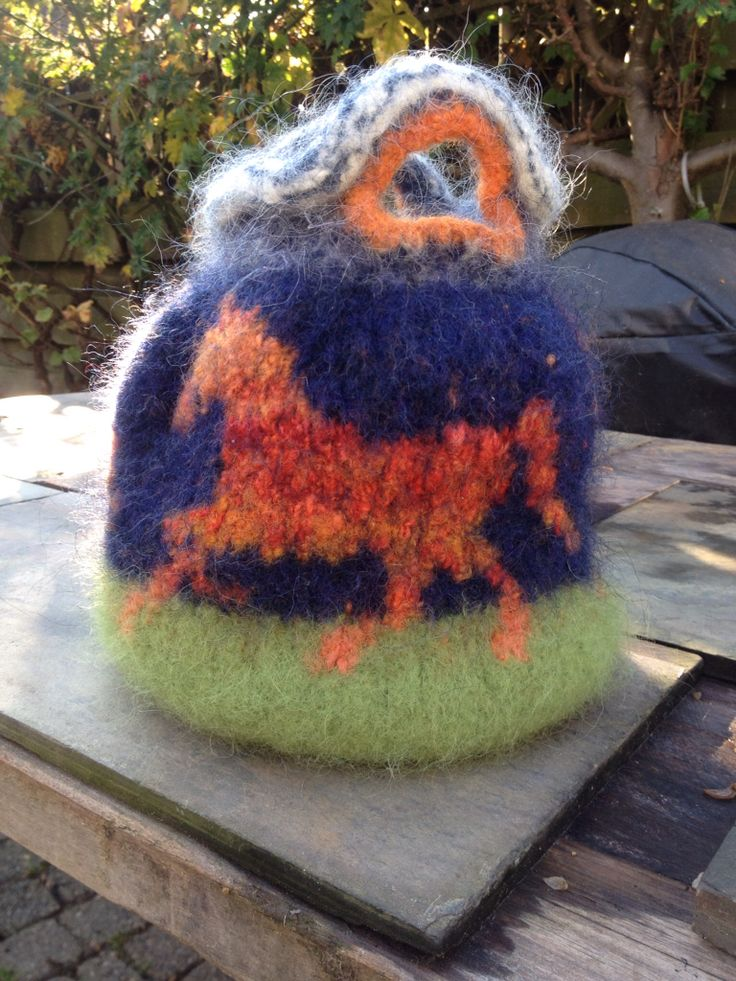 Felted...