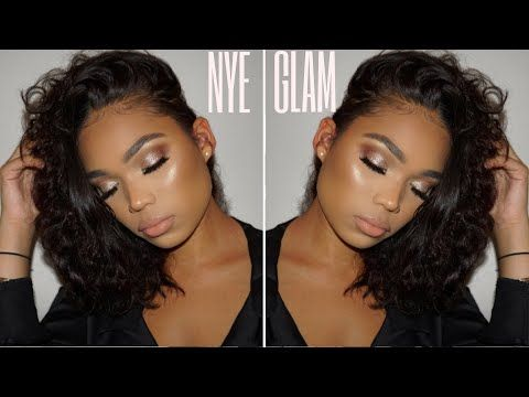 NEW YEARS EVE MAKEUP TUTORIAL | Briana Monique' http://makeup-project.ru/2017/12/29/new-years-eve-makeup-tutorial-briana-monique/