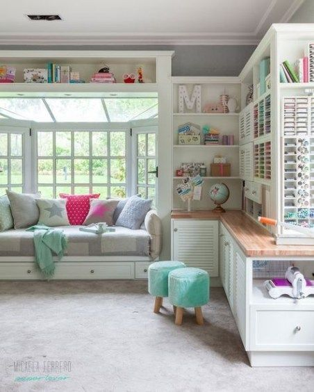 33 Craft Room Storage Projects for Your Home office