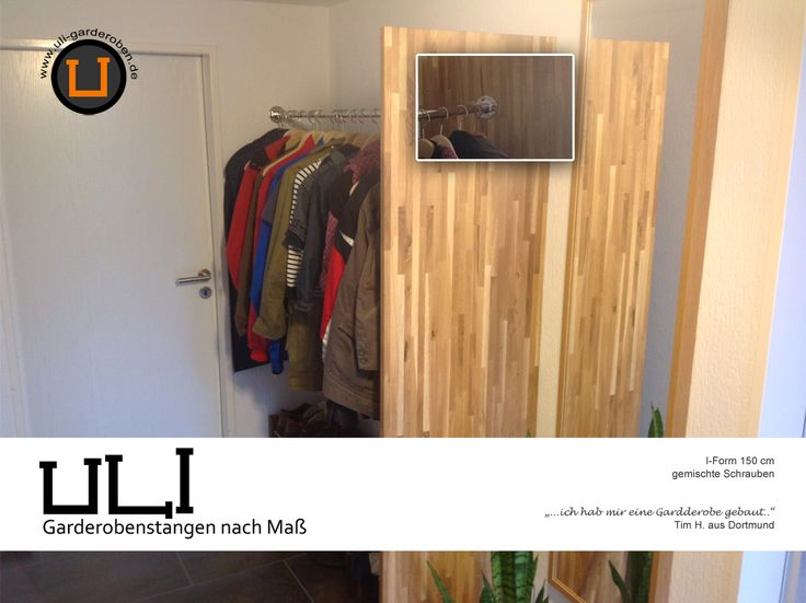1000 images about ulibook kleiderstangen garderobenstangen on pinterest parks popular. Black Bedroom Furniture Sets. Home Design Ideas
