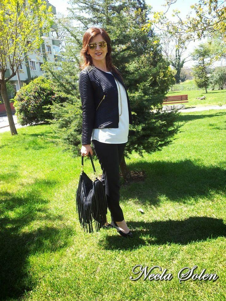 Kurtarıcılarım Siyah-Beyaz kıyafetler:=)
