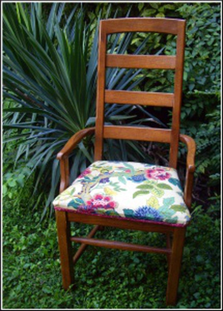 Diy project how to reupholster dining chair seats