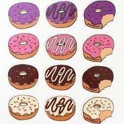 temporary donut tattoo - Google Search