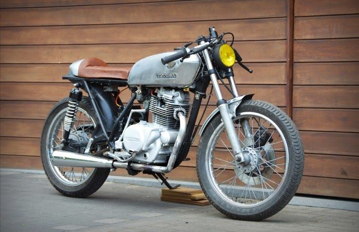 1979 Kawasaki KZ200 - Viktor Van Trimpont - The Bike Shed