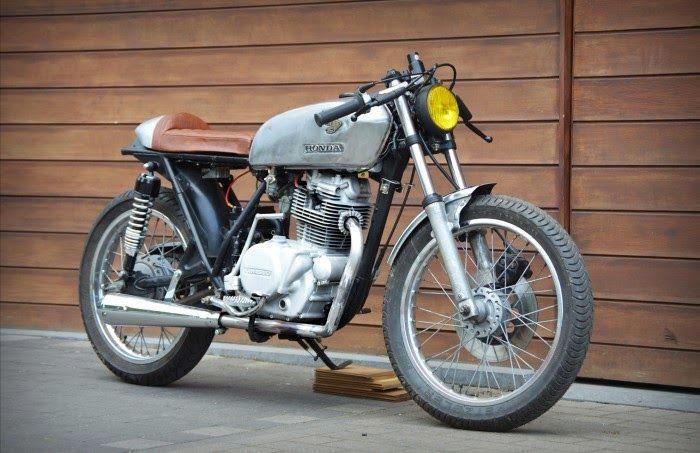 1979 Kawasaki KZ200 - Viktor Van Trimpont - The Bike Shed