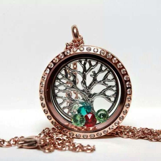Our family tree or tree of life locket.