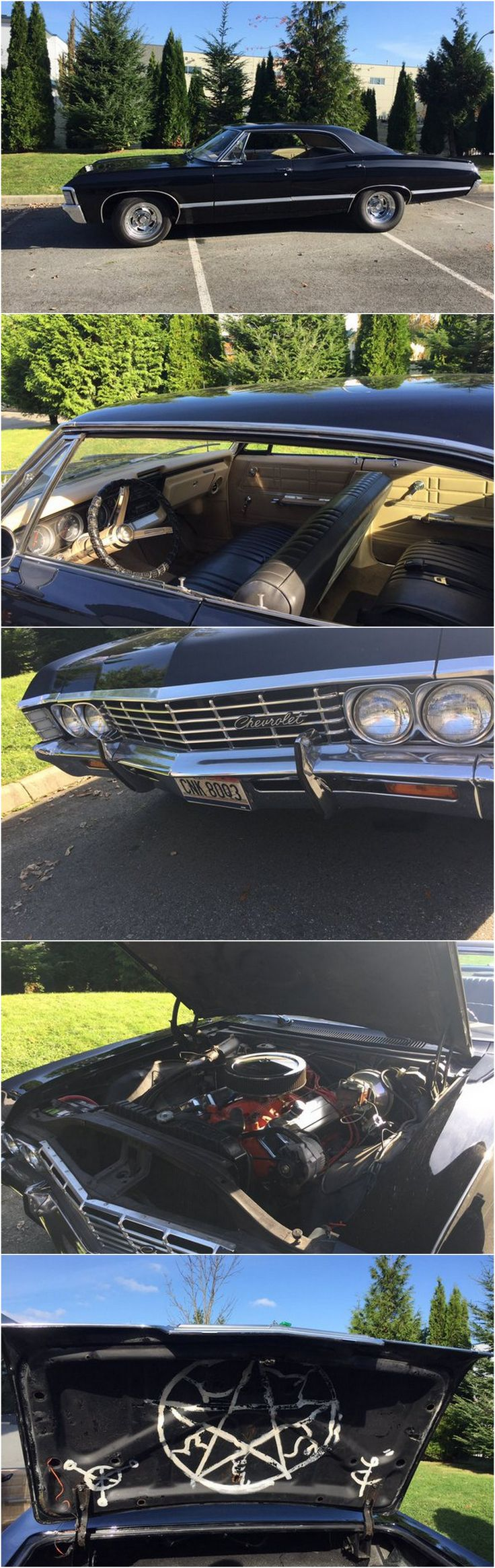"""Baby porn ~ @clarissa373 - """"The Impala (this is the mint condition one)"""" (on set visit - The TV Addict)"""