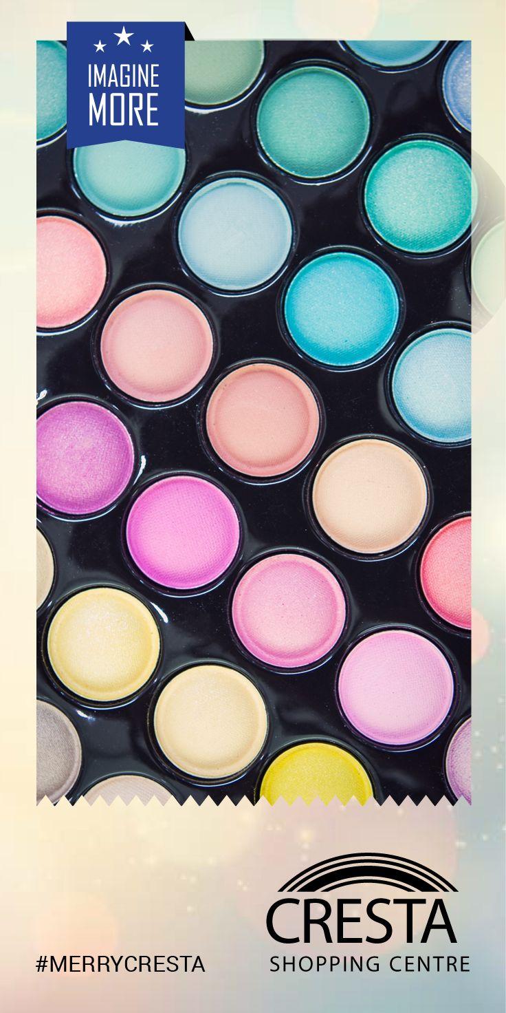 Assorted colour eye shadow set from Ralo Cosmetics Cresta Centre @ R44.50 #MerryCresta #Women #MakeUp #Colour