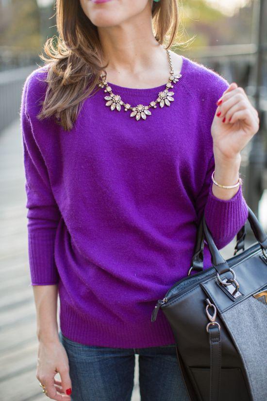 Pop of Purple • BrightonTheDay