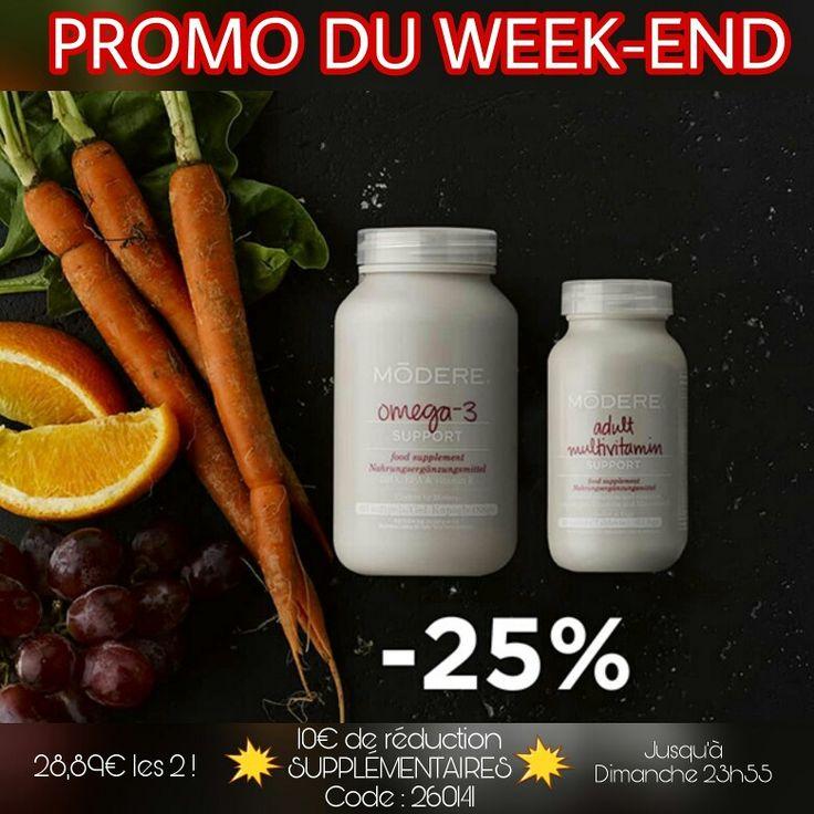 💪Adult Multivitamin💪 - ce complément alimentaire contient les vitamines, minéraux et antioxydants qui permettent à notre corps de fonctionner normalement chaque jour.   💥Notre formule aux 👌omégas-3👌 contient une quantité équilibrée de DHA et EPA, pour fortifier le cerveau, le cœur et la vision.  💲10€ de R E D U C T I O N IMMÉDIATE sup Avec le code 260141 www.Modere.eu   ♻️Eco-responsable 🐰Cruelty Fre 🌱Label EWG
