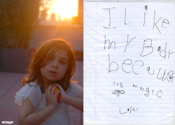 """I like my body because it's magic."" - 5-year-old Sofia (aka Lola)"