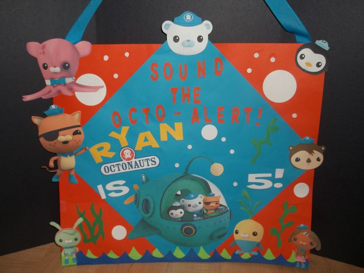 17 Best Images About Octonauts Birthday Party On Pinterest
