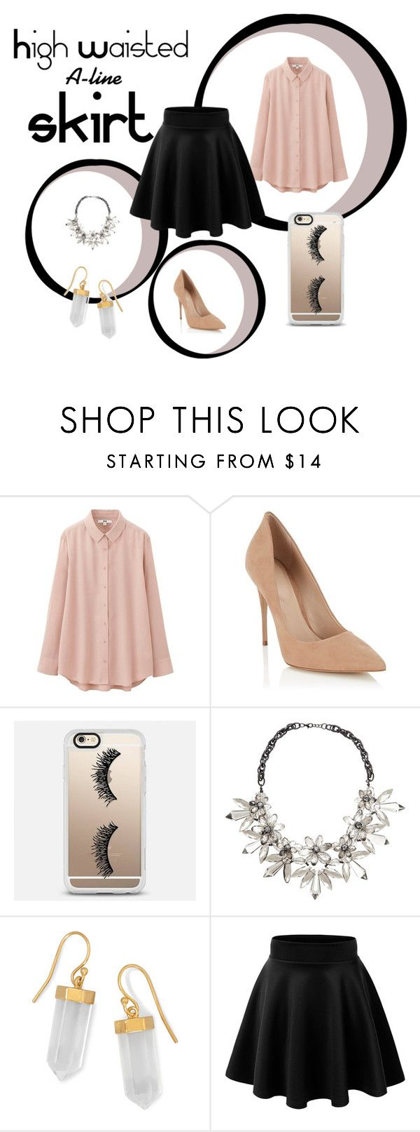 """Без названия #130"" by ashartyray on Polyvore featuring мода, Uniqlo, Lipsy, Casetify, John Lewis и BillyTheTree"