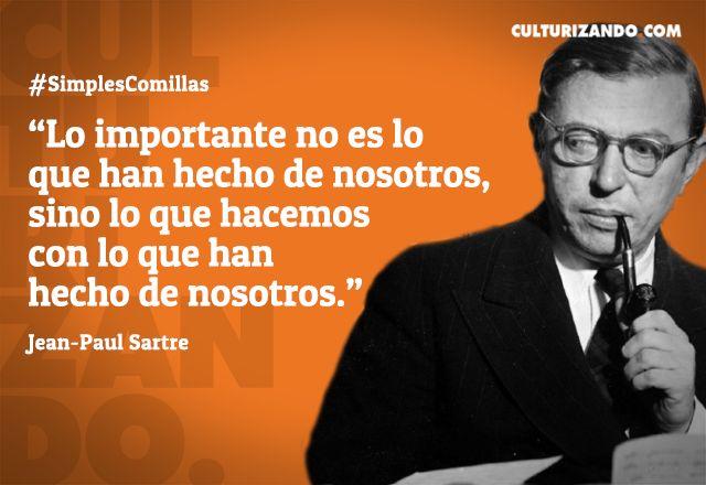 ¿Quién fue Jean Paul Sartre? - culturizando.com | Alimenta tu Mente