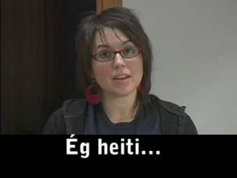 ▶ Common Phrases in Icelandic Language : How to Make Introductions in Icelandic Language - YouTube
