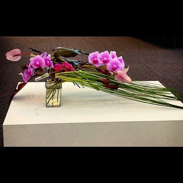 Design from Interflora Australia Cup 2013 - Bart Hassam Floral Design. #florist #flowers #floral #barthassamfloraldesign #floristlife #travellingflorist #floraldesigner #floristbrisbane #brisbaneflorist #competition #floralart #art #design #brisbane #picoftheday #tagsforlikes #bne #instaflorist #designer #calla #orchids #horizontal #pink