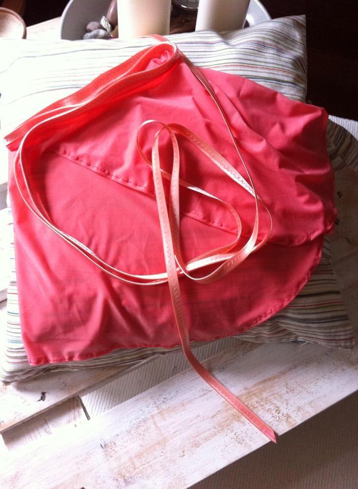 first ballet wrap skirt..