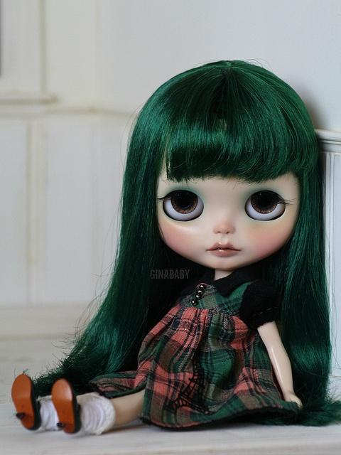 OOAK Custom Blythe Doll #90 ~ Jade ~ By G.Baby ~ with Eurotrash dress | eBay