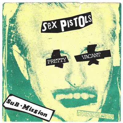 Lp cover art sex pistols