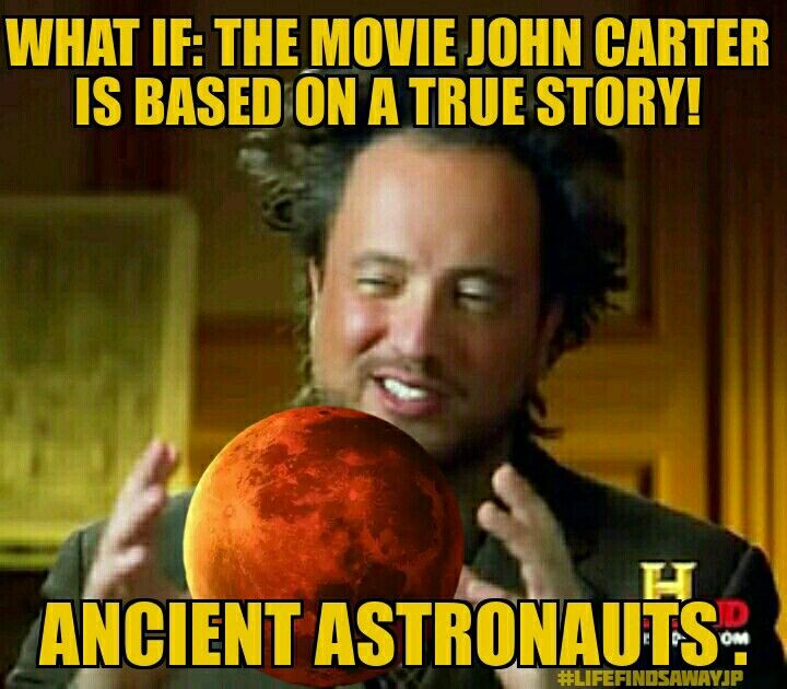 John Carter from MARS