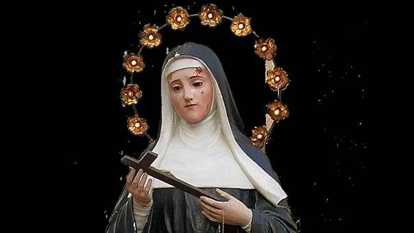 Recitare il Santo Rosario con le invocazioni a Santa Rita è una 'bomba spirituale' contro le tenebre