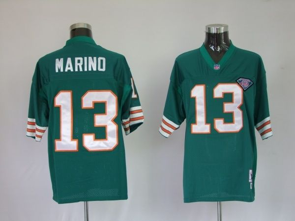 021d2f2f ... france mitchell and ness dolphins 1984 13 dan marino green stitched  team color nfl jersey womens