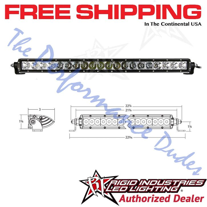 Same Business Day Shipping Rigid Industries SR Series 20 inch Spot / Flood Combo LED Light Bar - #920313