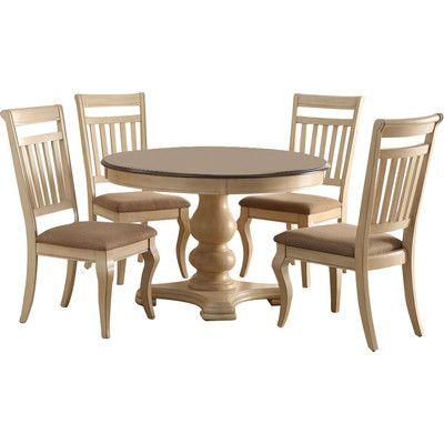 Infini Furnishings Bella 5 Piece Dining Set & Reviews | Wayfair
