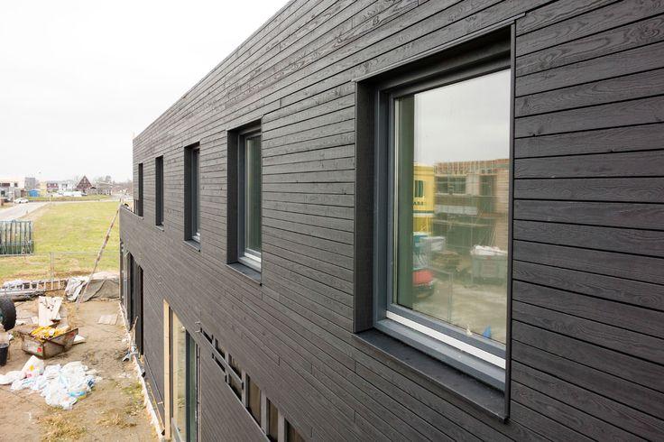 Black wood facade   architecture   Nieuwkoop Zuidhoek