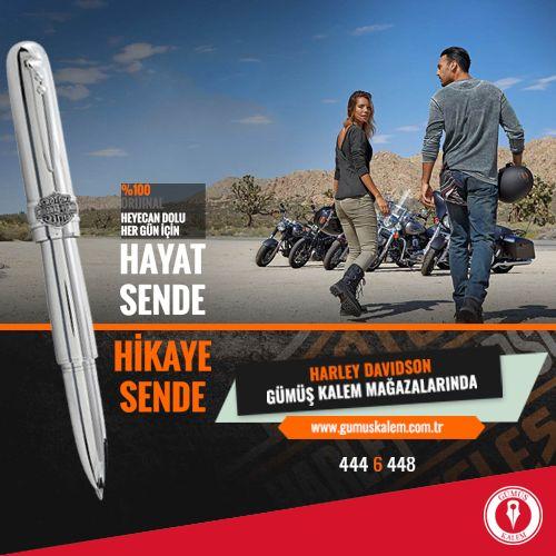 Harley Davidson kalem çeşitleri Gümüş Kalem' de! www.gumuskalem.com.tr