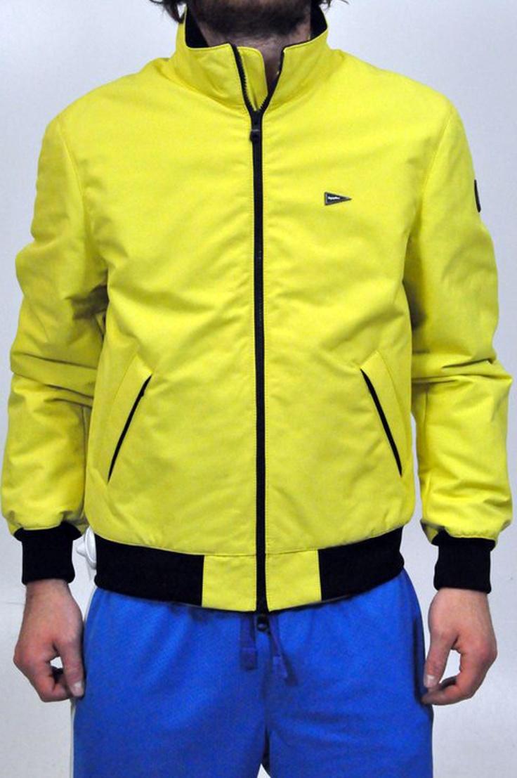 Giubbotto giallo Refrigiwear con dettagli in nero