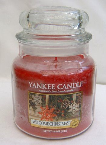 Yankee Candle Welcome Christmas  Housewarmer Jar