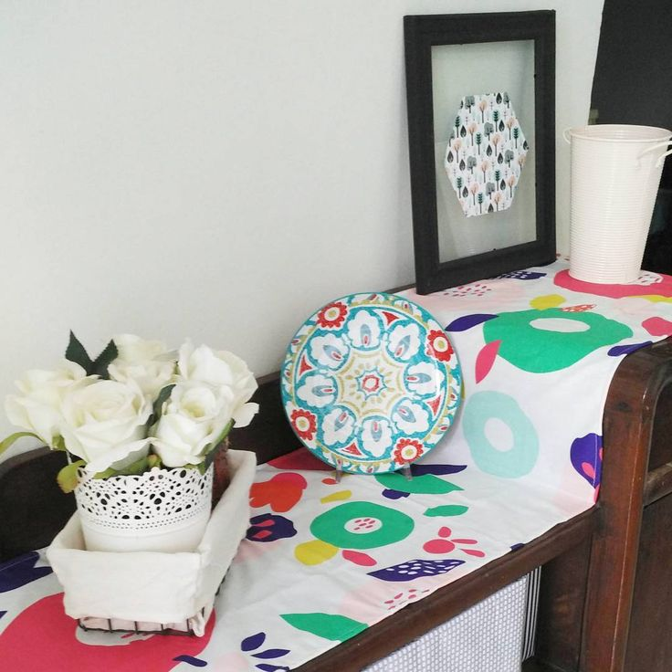nice Cinta bgt sama table runner buatan sendiri ini. . . . .  Monochrome tergantikan ... by http://www.aloo-homedecor.site/diy-home-decor/cinta-bgt-sama-table-runner-buatan-sendiri-ini-monochrome-tergantikan/