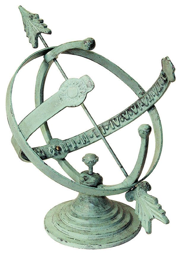 Armillary Sundial for $75.99. Armillary sundial with rustic weathered finish.