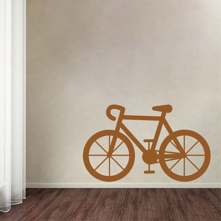 bicycle vinyl wall decal decor - Wall Design Decals