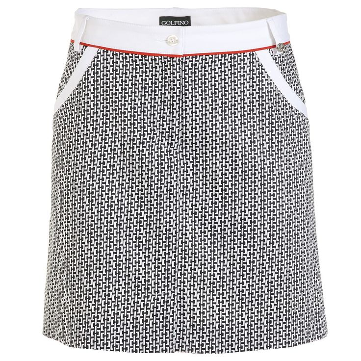 Jupe femme printed stretch Golfino - Golf Plus