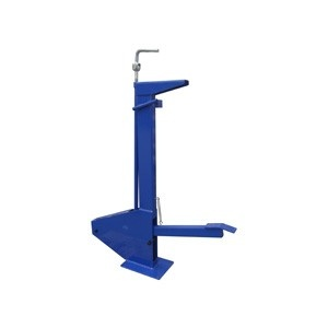 Foot operated shrinker strecher stand metal fabrication for Fabrication stand