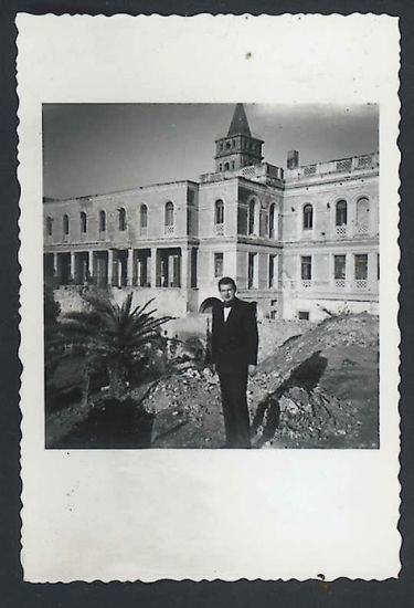 Francis Bacon, c. 1950s, photograph possibly taken in Tangier by Peter Lacy. Collection Dublin City Gallery The Hugh Lane © The Estate of Francis Bacon