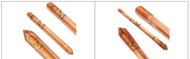 Copper Bonded Earthing Rods #CopperBondedEarthingRods