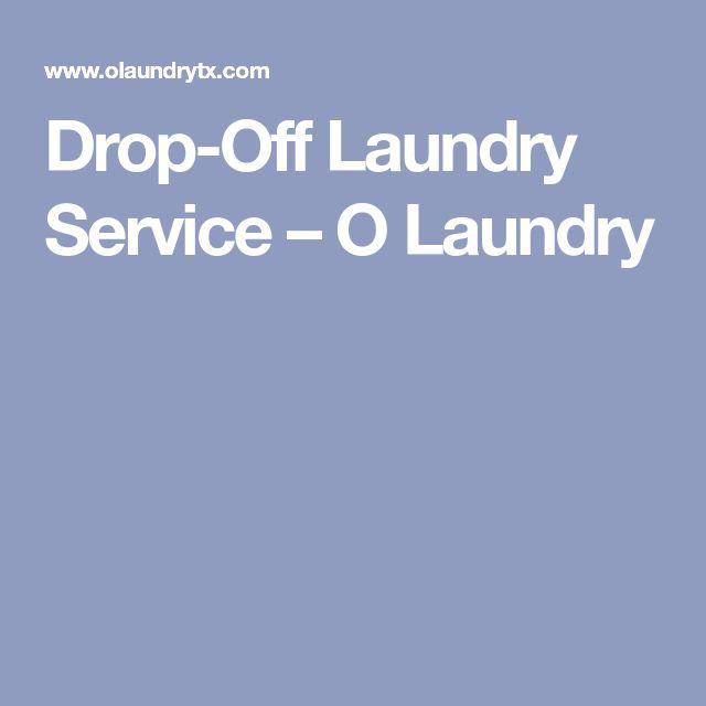 Drop-Off Laundry Service – O Laundry