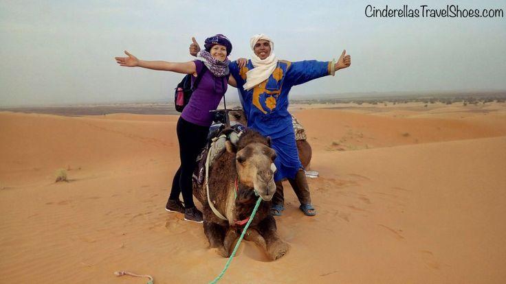 Me, Berber & Camel in Sahara Desert Morocco
