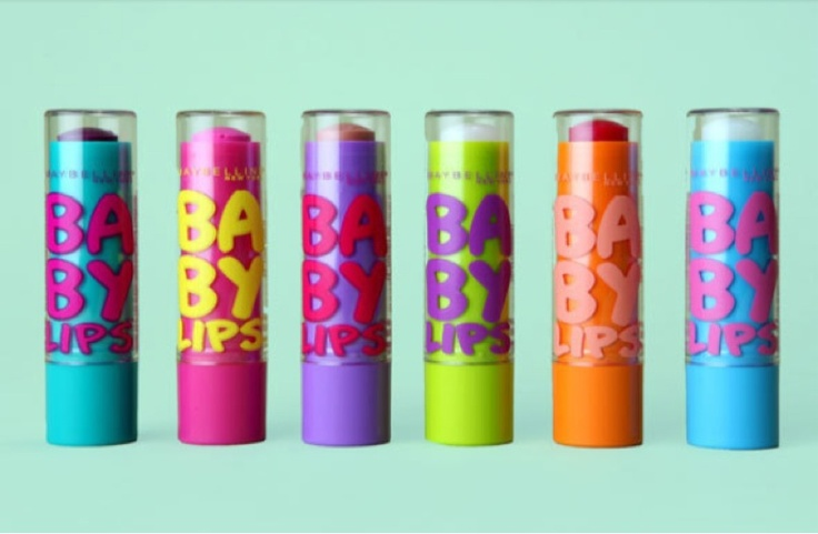 Baby Lips! <3 the best lip balm  I ever had *o*