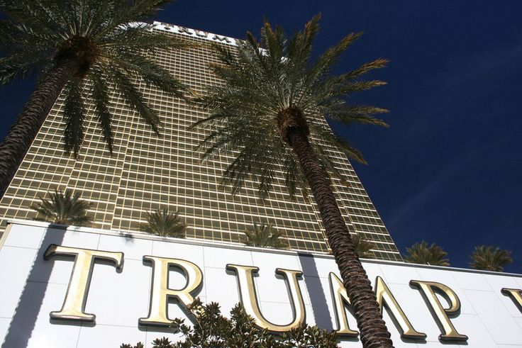 Trump International Hotel in Las Vegas, is getting a wall of Taco Trucks next to it, in protest, during the debate tonight.